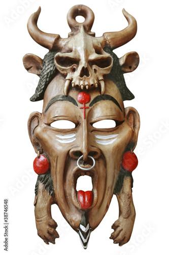 Foto op Aluminium Tunesië African mask