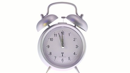 alarm clock ringing