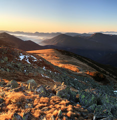 Autumn mountain in Slovakia - Low Tatras