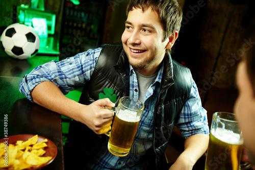 Guy in pub