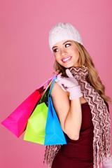 Beautiful Blonde Shopping