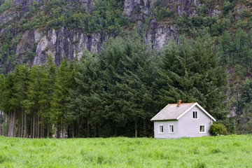 house in wilderness