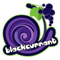 Blackcurrant ice cream