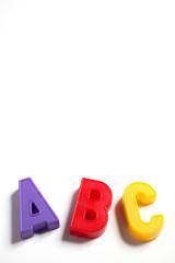 abc - lettere dell'alfabeto