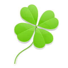 four leaf clover for saint patrick's day