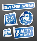Sportswear collection stickers