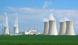 Nuclear power plant panorama. - Fine Art prints