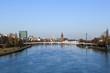cityscape of Frankfurt am Main, Germany.