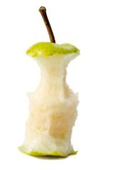 Eaten pear