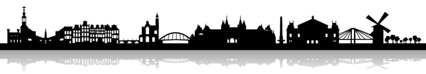 Amsterdamer Skyline