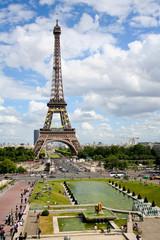 Eifel tower in Paris France