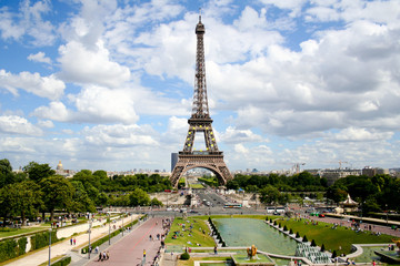 Eifel tower in Paris France