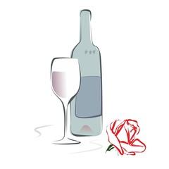 Wein Rose 3