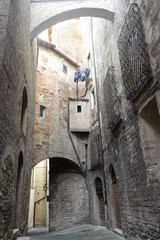 Old street of Todi