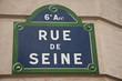rue de seine à Paris 6ièm