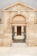 Entrance to famous archiepiscopal Palais du Tau im Reims