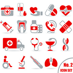 Medizin - Icon Set