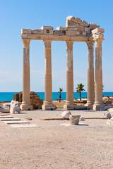 Apollo Tempel im türkischen Side