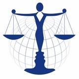 Justiz   International   Recht   Logo