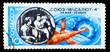 USSR - CIRCA 1975: A stamp printed in USSR, Soyuz 18 - Salyut 4,
