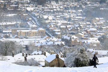 Matlock Town view - Winter