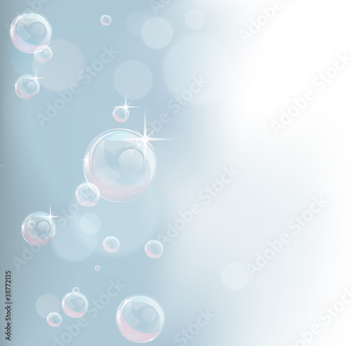 Pastel tones bubble background