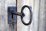 Fototapety grosser alter Schlüssel