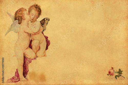 Valentinstag Karte Bouguereau