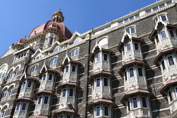 luxury historic hotel Taj Mahal Palace in Mumbai