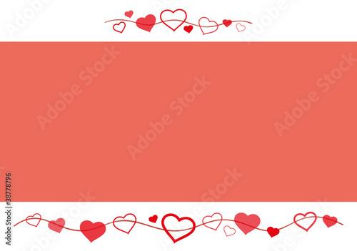 Grußkarte Herz Valentinstag Liebe Rahmen