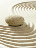 zen wave simplicity purity poster
