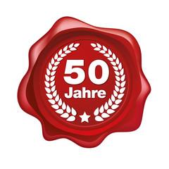 50 Jhre Gütesiegel, vektor