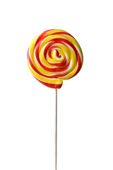 Lollipop isolate on white background