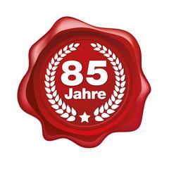 85 Jahre siegel