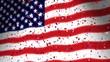 American Flag & Confetti