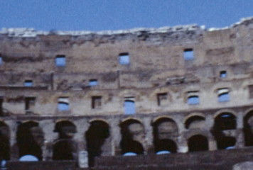 Colosseum, Rome, Italy (Archival 1960s)