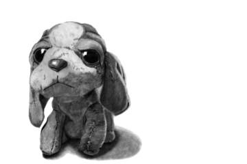 Plüschtier Hund