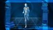 Bionic 3D Man Running (HD Loop)