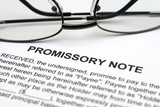 Promissory note poster