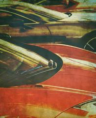 faded cars photo