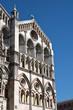 Cathedral of St. George. Ferrara. Emilia-Romagna. Italy.