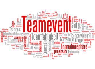 Tagcloud Teamevent