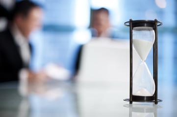 Business Hour Glass