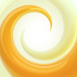 Abstract background made of spiral twirl
