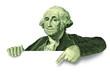 Leinwanddruck Bild - Downgraded currency