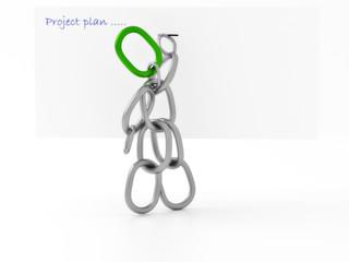 Kettenmännchen - Projektplan
