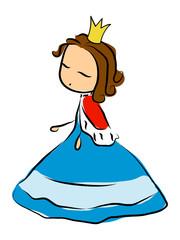 Doodle princess