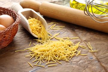 Spaghettini - Italian raw pasta