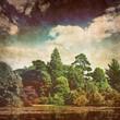 faded lake photo