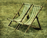 old deck chairs
